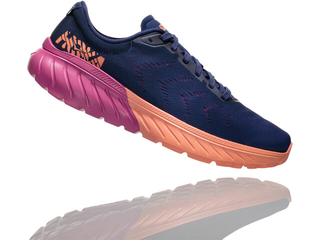 Hoka One One Mach 2 Running Shoes Damen medieval blue/very berry